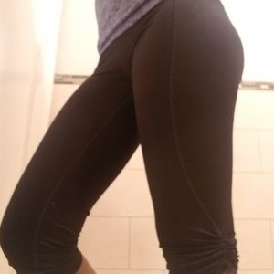 Victoria's Secret Women VSX Black leggings